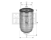 PL9100 MANN-FILTER COMBUSTIBLE
