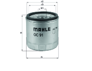 OC91D MAHLE ACEITE