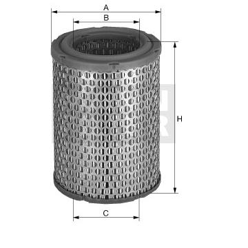 Mann Filter C17129 Filtre /à air