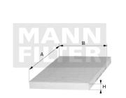 CUK23015-2 MANN-FILTER HABITACULO