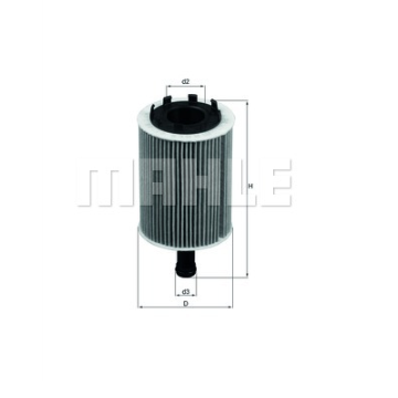 Mahle Filter OX188D Oil-Filter Element